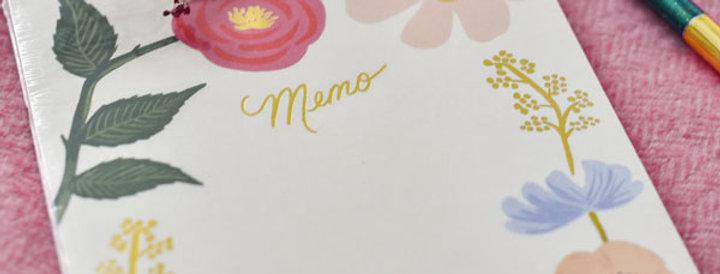 """Bloc notes - """"Memo"""""""