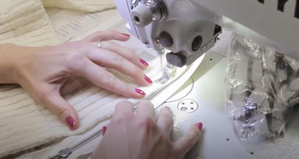 Atelier du fournisseur des pulls en laine : Irelandseye