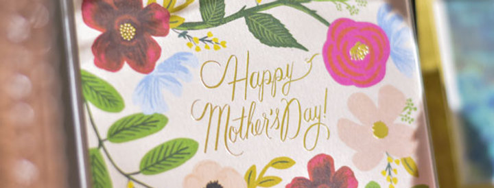 """Carte postale - """"Happy Mother's Day !"""""""