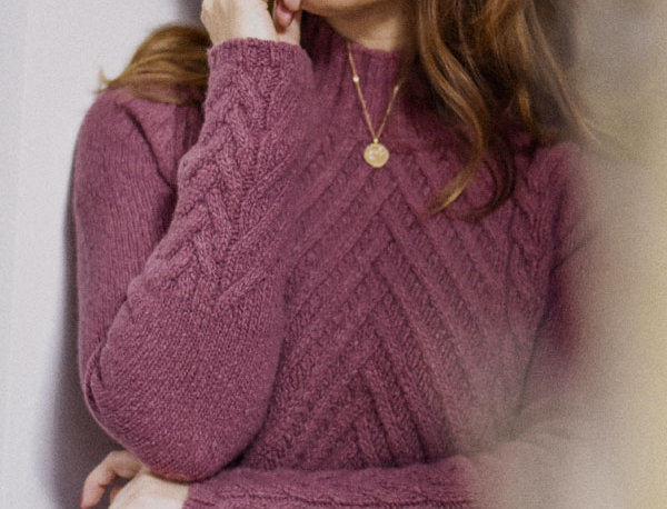 Le pull Maryse - Framboise - Laine et cachemire
