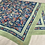 Thumbnail: Foulard fleuri en coton vintage