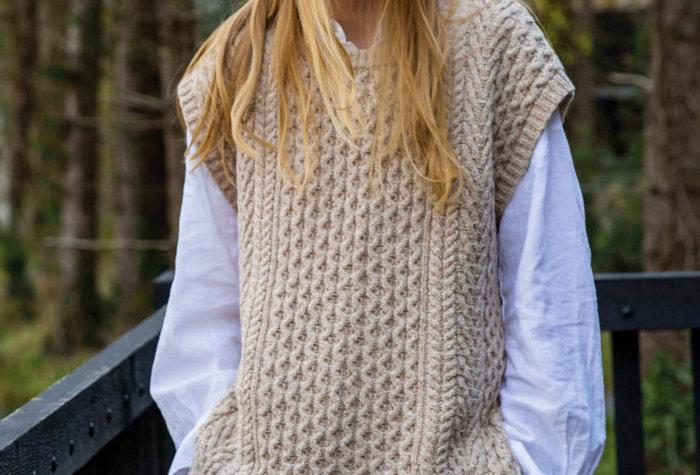 Le pull Nancy - Seashell - Laine, coton, cachemire et soie