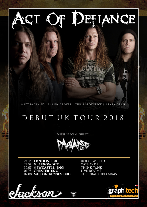 Get Your Tickets to the First Date of our UK Tour with Act of Defiance Now!