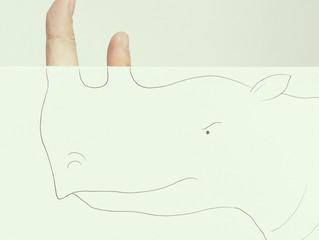Dedos e desenhos: uma boa combinação