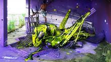 Arthur Bordalo: fazendo lixo virar arte