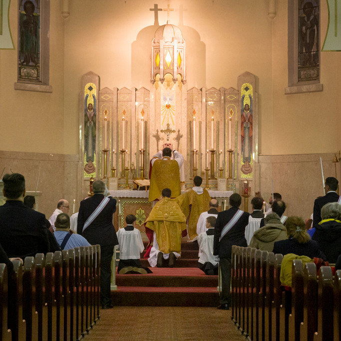 Solemn High Mass for the Feast of St. Patrick