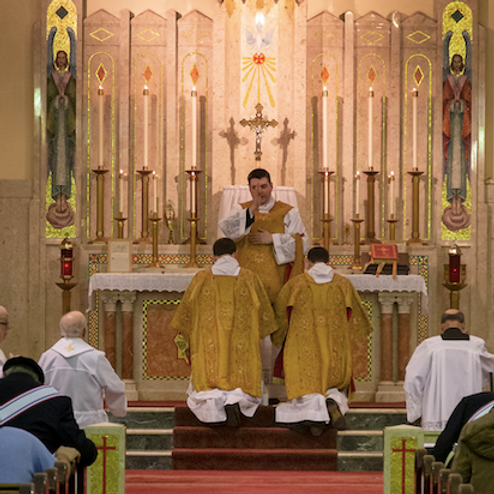 Wednesday Guest Priest: Fr. Ian McElrath
