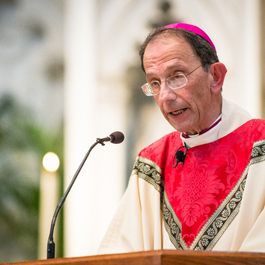 Visit from Bishop Persico