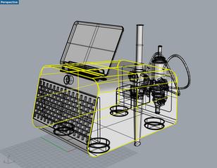 Medical Beauty Machine 3D modeling