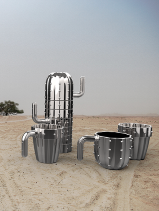 Cactus stackable drinkware Limited edition