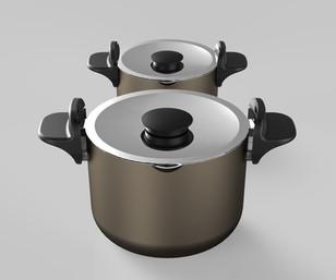 Swivel cookware