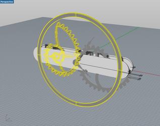 3D modeling irregular clock
