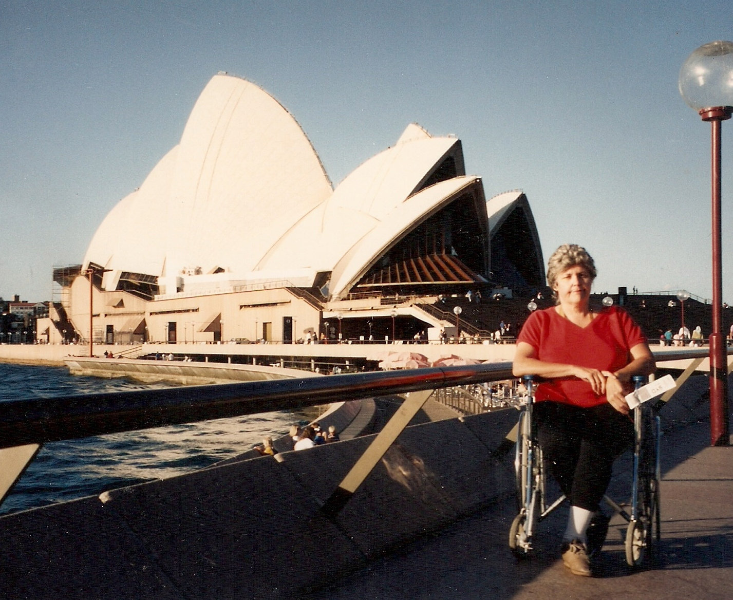 Anne Simpson at Sydney Opera House