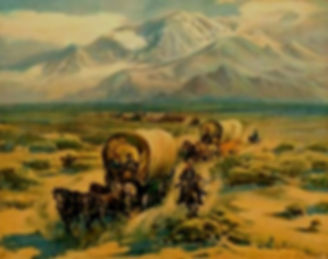 Wagon Train heads West