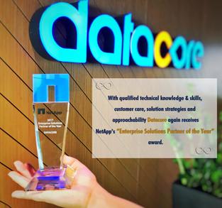 """Datacore again receives NetApp's """"Enterprise Solutions Partner of the Year"""" award"""