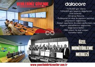 Yönetilebilir Yedekleme Hizmetleri ile Verileriniz 7x24 güvende / Özel Monitörleme Merkezi