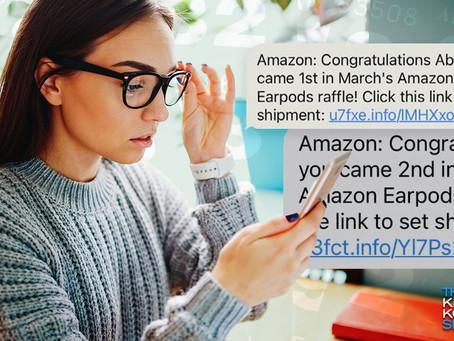 Amazon'dan Gelen Bu Mesaj Sahte!