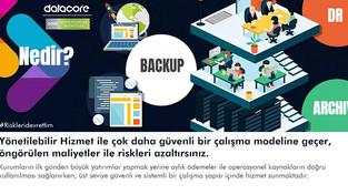 """""""Datacore Yönetilebilir Hizmetler ile çok daha güvenli bir çalışma modeline geçer, öngörülen ma"""