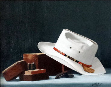 Old Hat and Boxes
