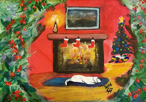 Christmas Through the Window
