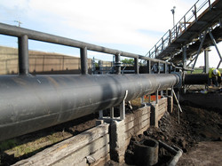 Corral Pipe Work Power Station