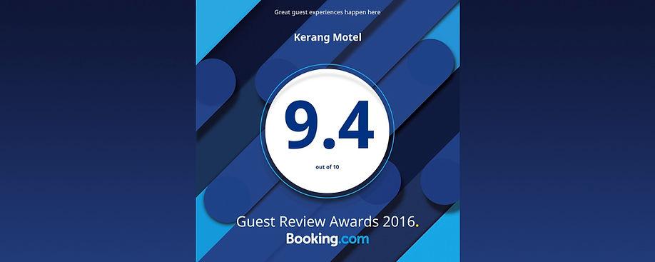Booking.com Motel Score