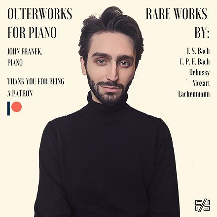 John Franek - Outerworks Cover
