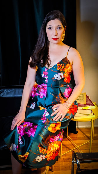Stephanie Sanchez, mezzo soprano / Photo by Dane Suarez