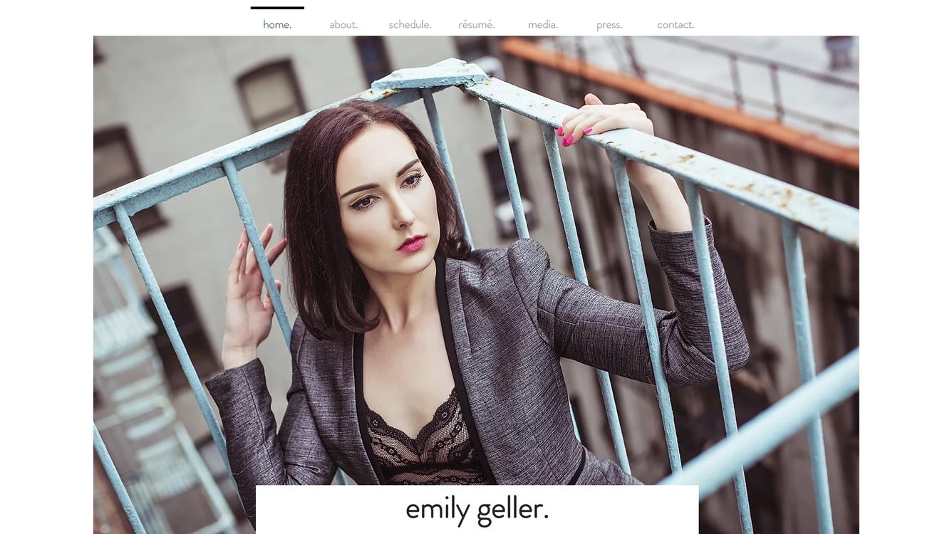 Emily Geller, mezzo-soprano