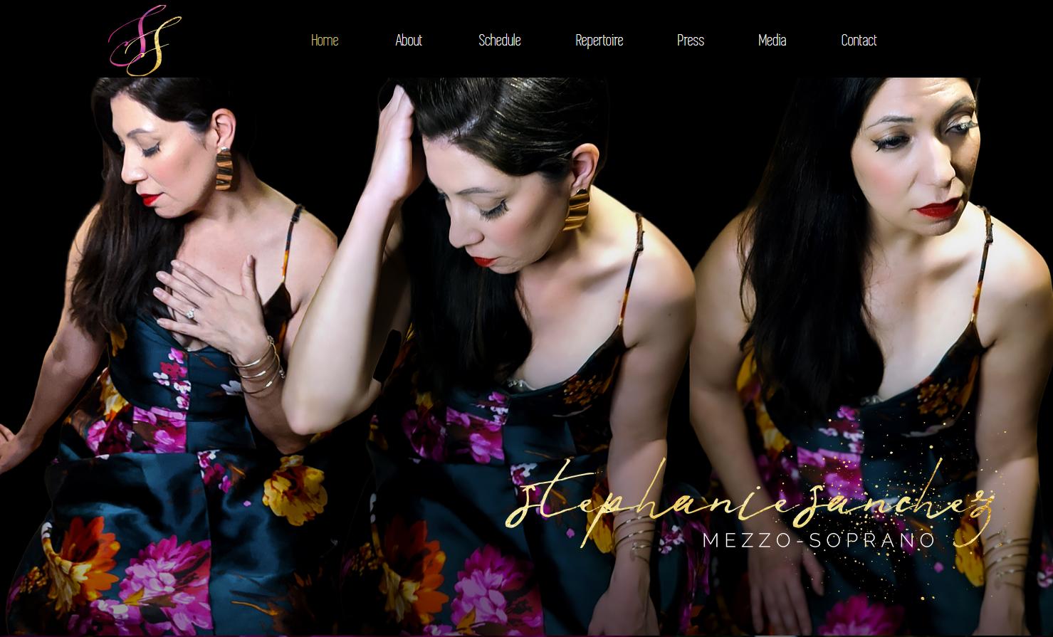 Stephanie Sanchez, mezzo-soprano