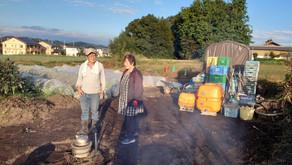 10月24日は里芋掘りのあと「芋煮会」です‼