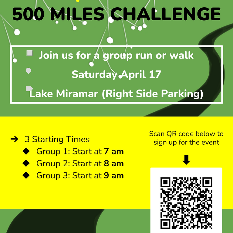 Stop Asian Hate 500 Miles Challenge