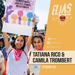 Tatiana Rico y Camila Trombert
