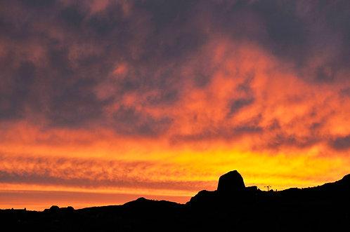 Doune Broch Sunset 1