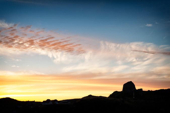 Doune Carloway Broch Sunset 2