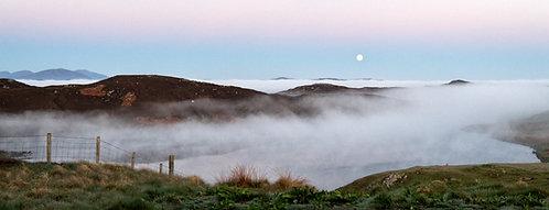 Moon Set Panoramic 1