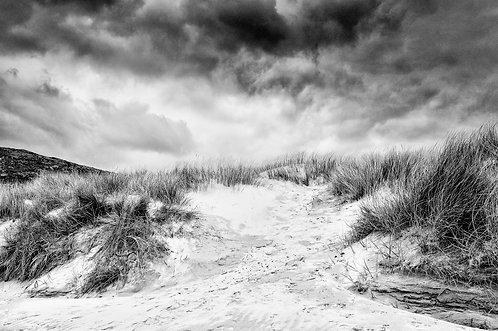 Luskentyre Sand Dunes BW