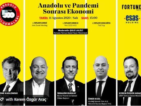 Fortune 500 Türkiye Anadolu Buluşmaları'nın ilki gerçekleşti