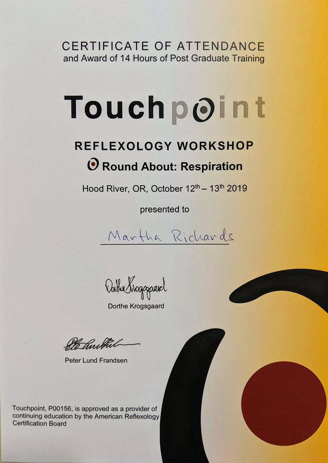 Touchpoint Round About: Respiration