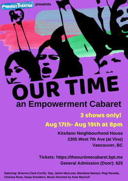 Our Time: An Empowerment Cabaret