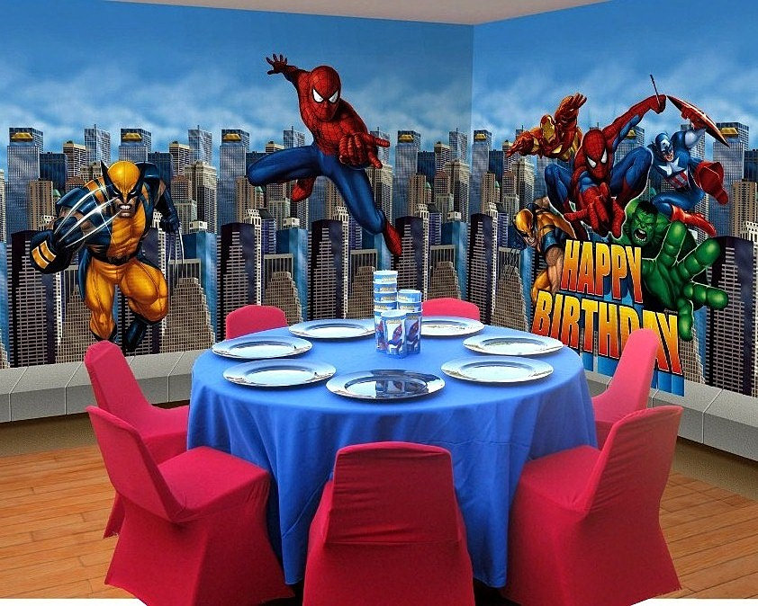 Celebrationfactory Event And Wedding Spiderman Theme Party