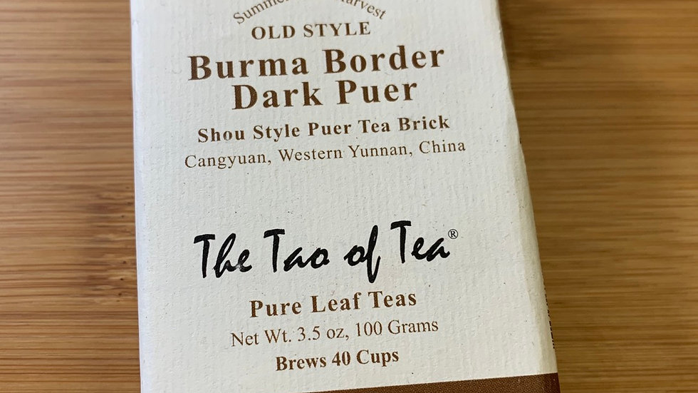 Black Pu-erh Brick