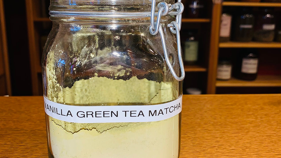 Vanilla Green Matcha Powder