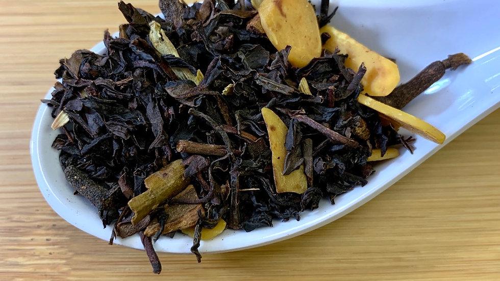 Almond Green Chai