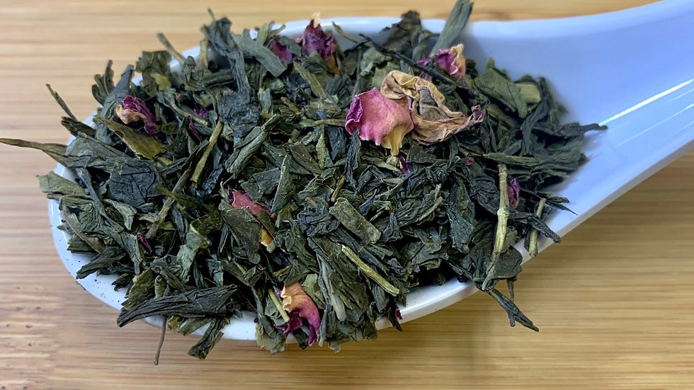 Sencha Cherry Rose Green