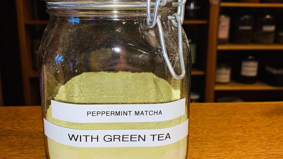 Peppermint Green Matcha Powder