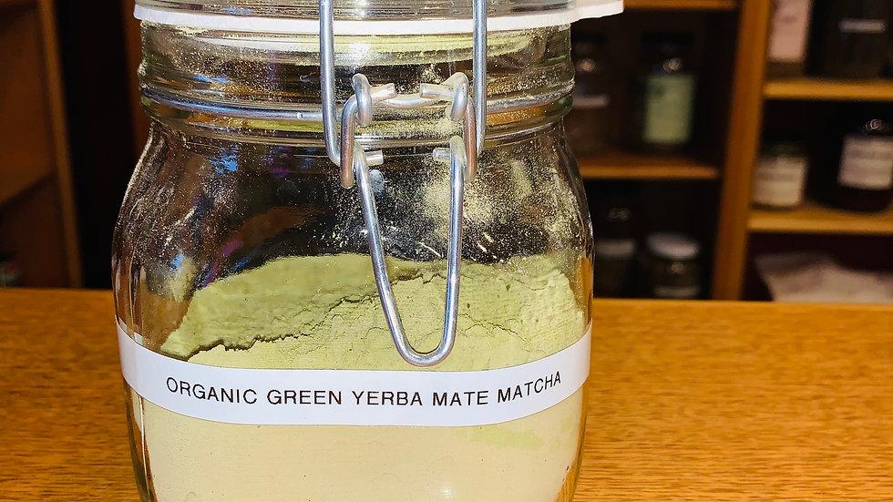 Yerba Mate Green Matcha Powder