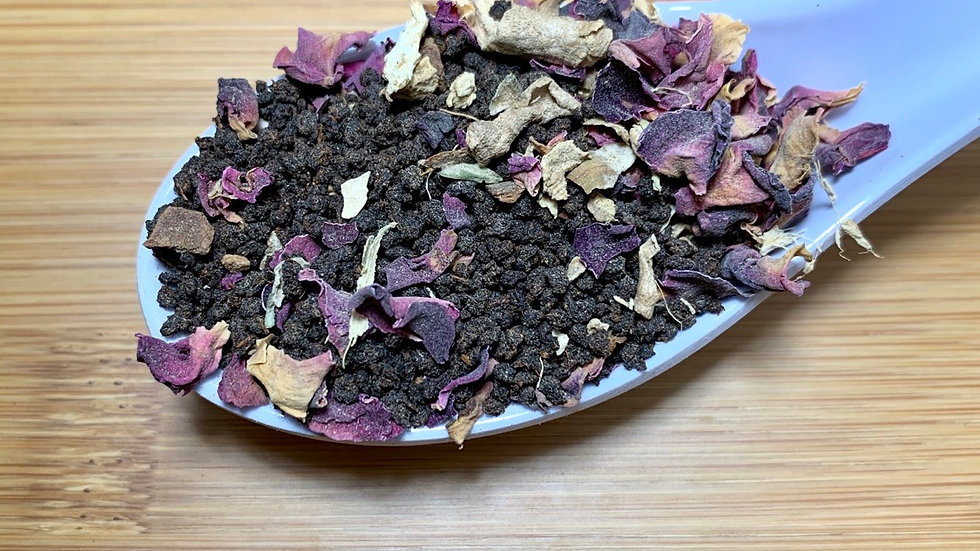 Rose Black Chai
