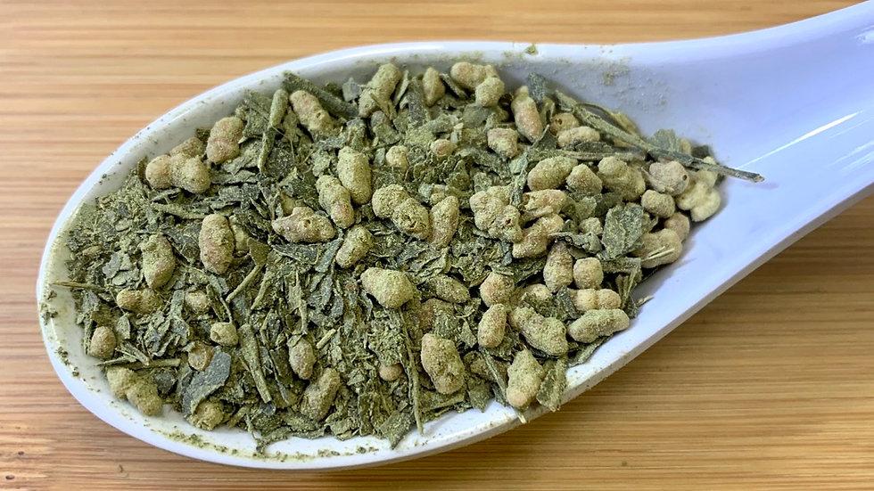 Uji Matcha & Genmaicha Green
