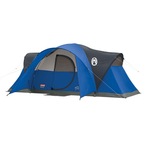 Coleman montana 8 person tent camping rental chicago gearboo 8 person1 room tent 16 x 7 feet footprint 74 inch center height11 millimeter fiberglass poles sciox Choice Image